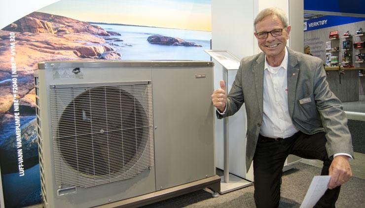 Kent Willen i ABK viser stolt frem F2120 som har en ytelse som sprenger grenser
