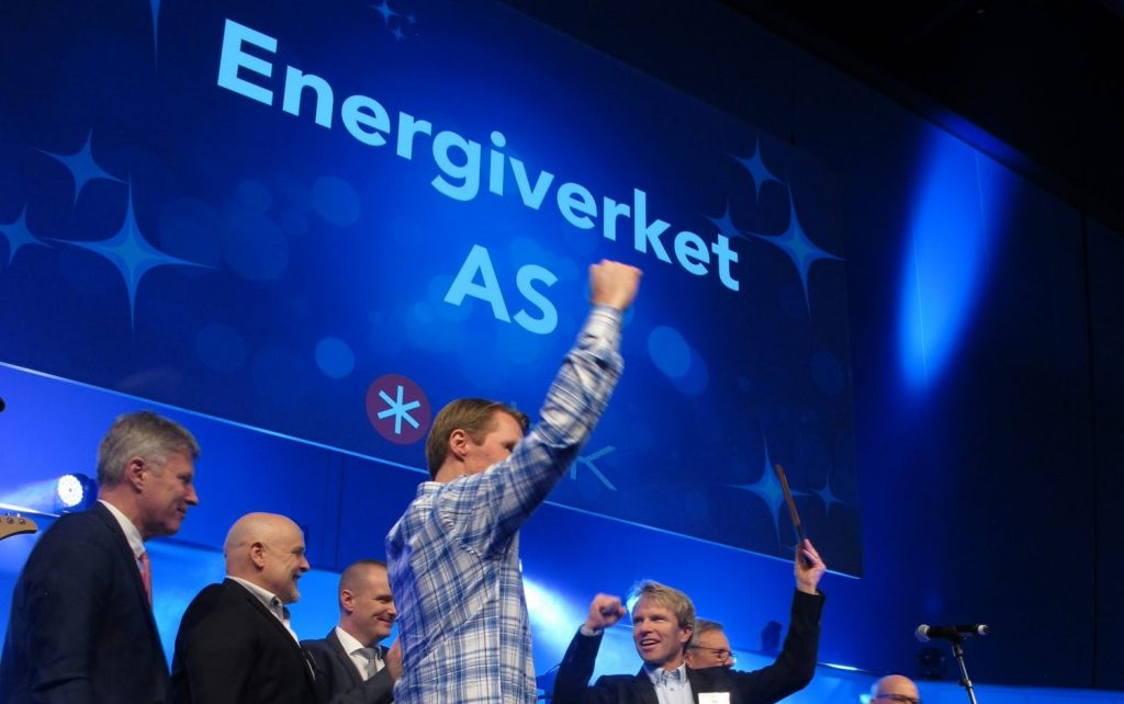 All time high for Energiverket