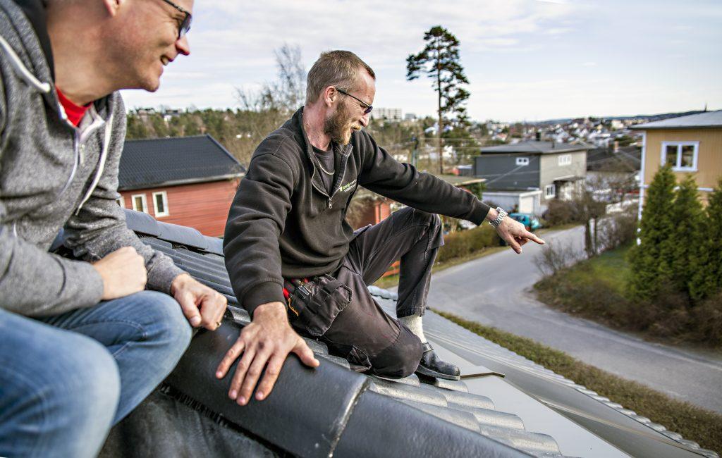 Valget av bergvarmepumpe og solfanger var enkelt for Geir og familien