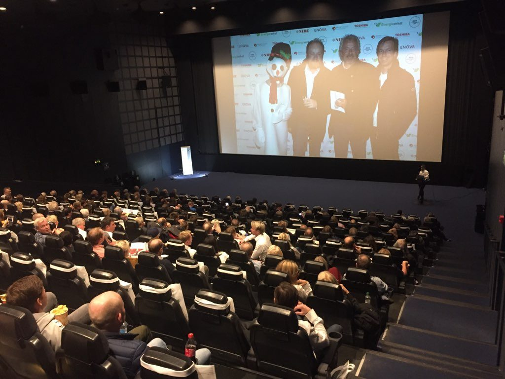 Energiverket arrangerte Miniseminar og Norgespremiere på Snømannen