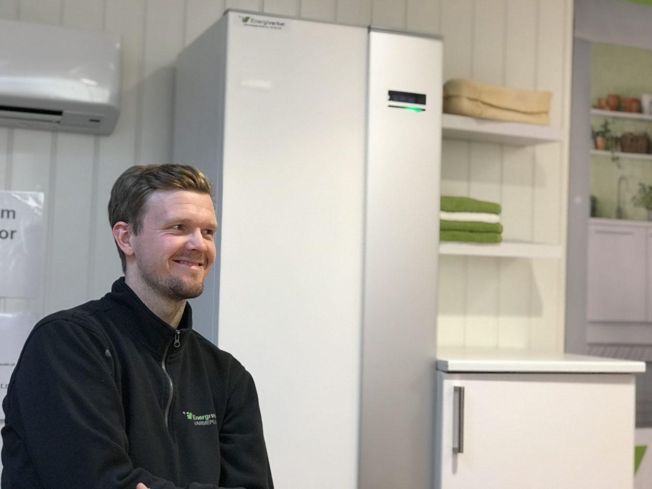 Kenneth ble rørlegger hos Energiverket og er i dag leder for montørene i Vestfold