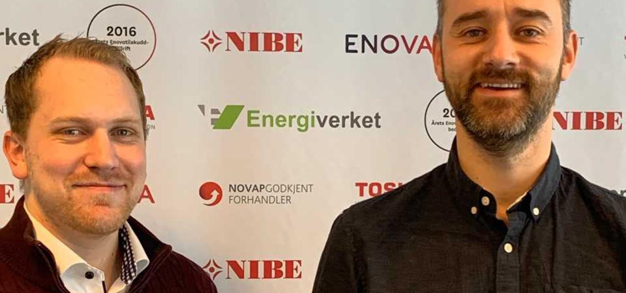 henrik og kamil i Energiverket Østfold